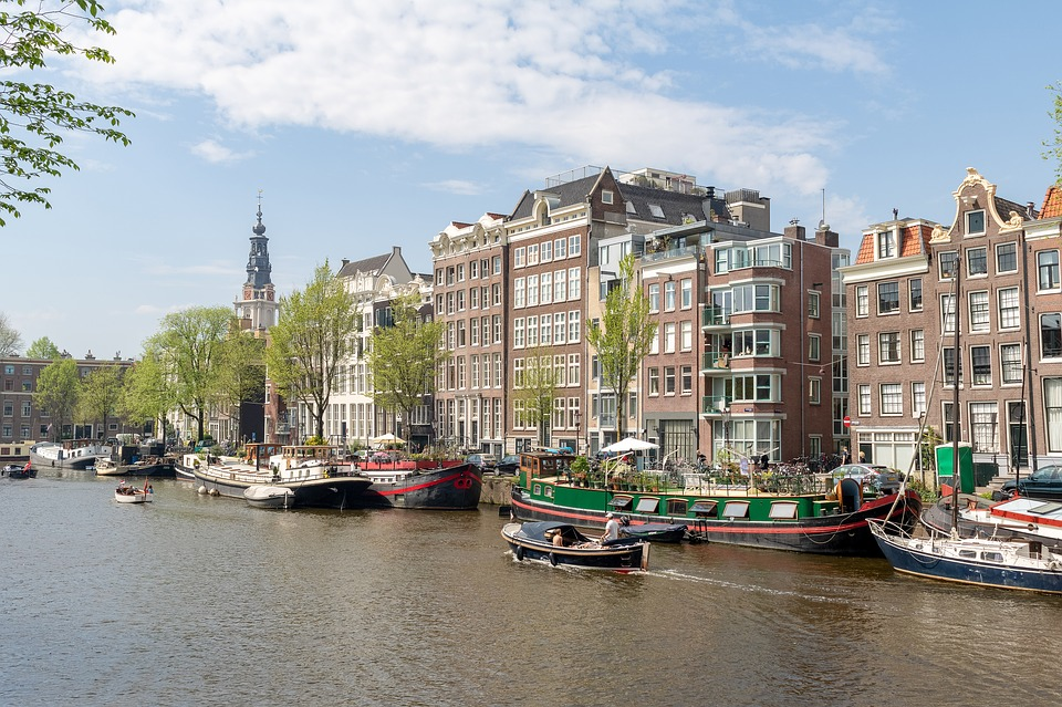 amsterdam, canal, architecture