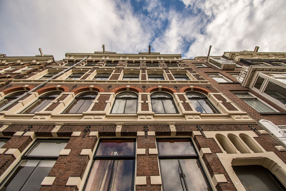 architecture, travel, amsterdam