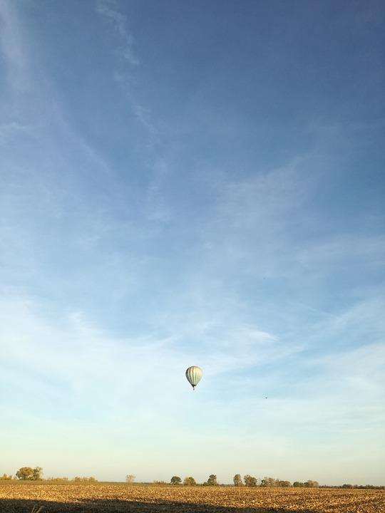balloon, air, hot