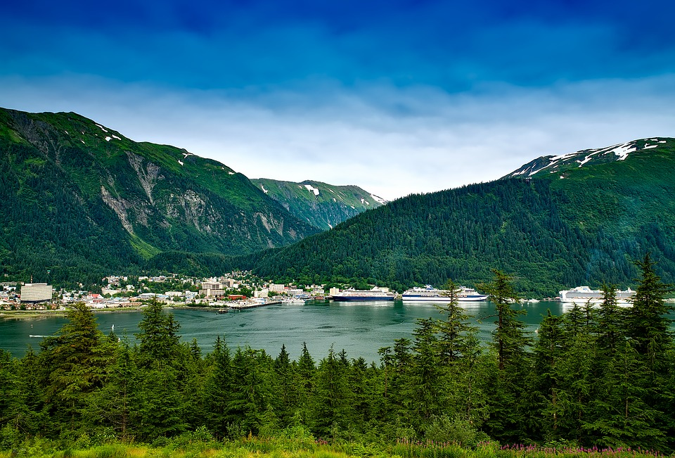 juneau alaska city cities urban view mountains valley forest trees woods vacation holiday travel cruise ships sky clouds hdr juneau juneau juneau juneau juneau alaska alaska alaska alaska cruise
