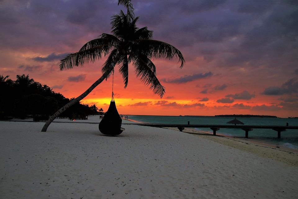 palma, beach, sand