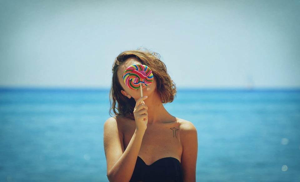 sea, ocean, candy