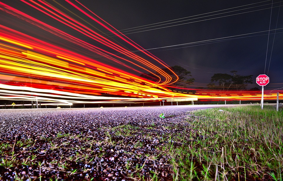 traffic, road, long exposure