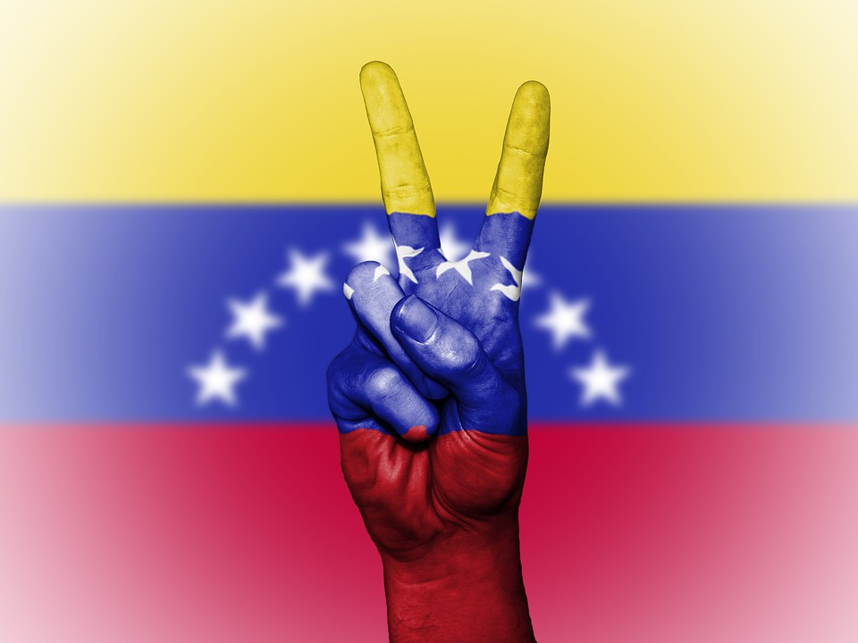 venezuela peace hand nation background banner colors country ensign flag icon national state symbol tourism travel venezuela venezuela venezuela venezuela venezuela
