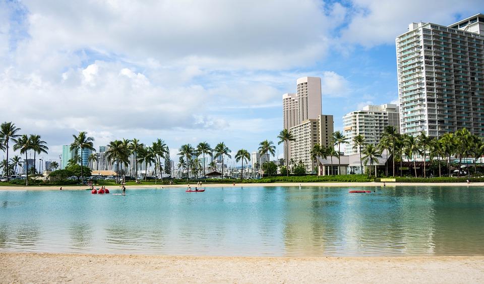 waikiki beach hawaii oahu honolulu hawaii beach vacation travel summer water tropical palm trees ocean nature holiday fun happy people summer fun outdoor sand leisure sunny sea hawaii hawaii hawaii hawaii hawaii honolulu honolulu