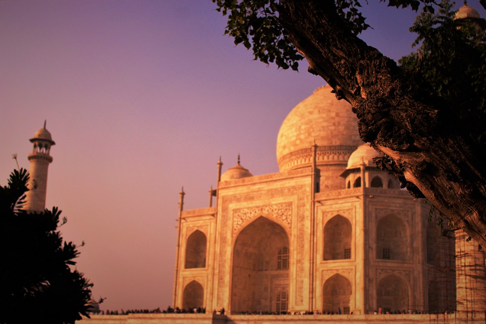 taj, monument, architecture