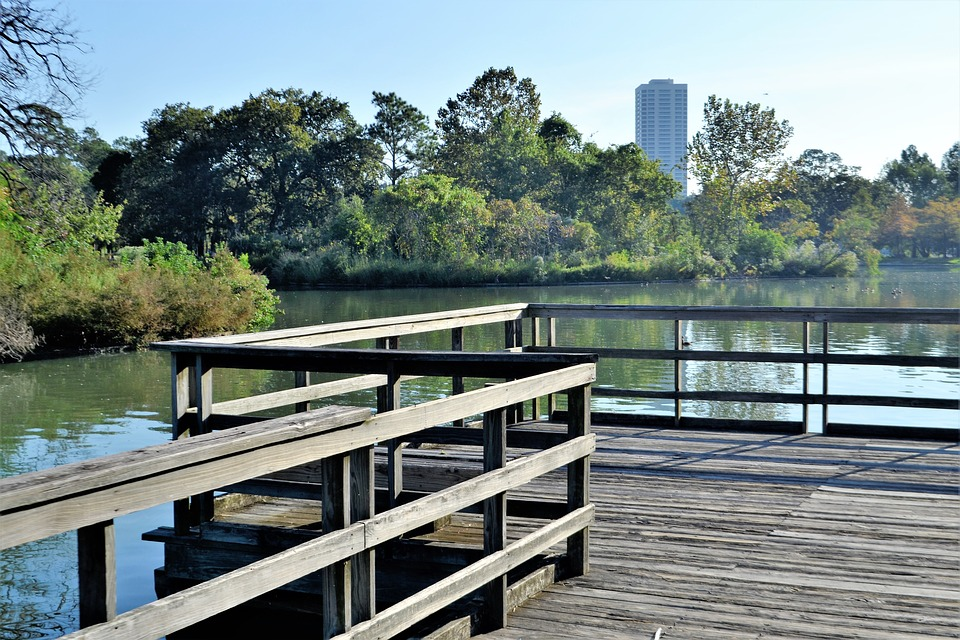 herman park, houston texas, lake