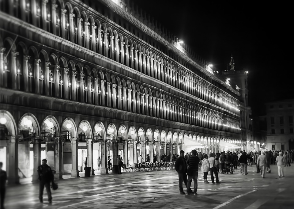 venice, italy, st mark's square