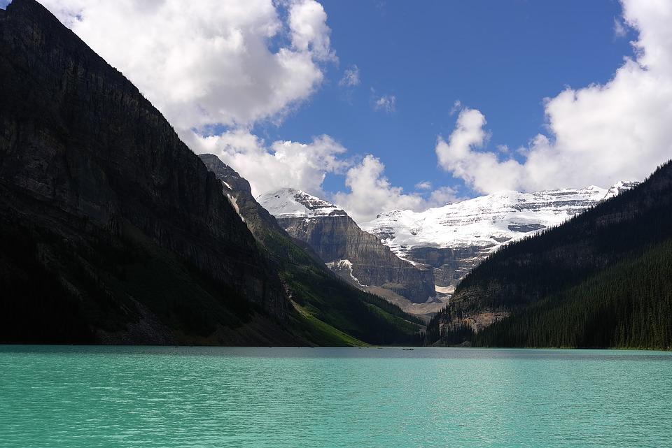 lake, scenery, landscape