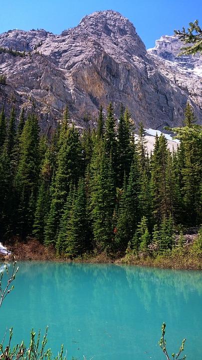 water, nature, mountain