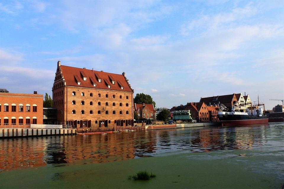 building, poland, gdansk
