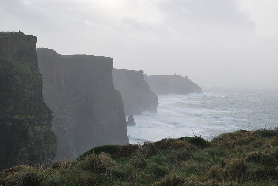 cliffs of moher, ireland, moher