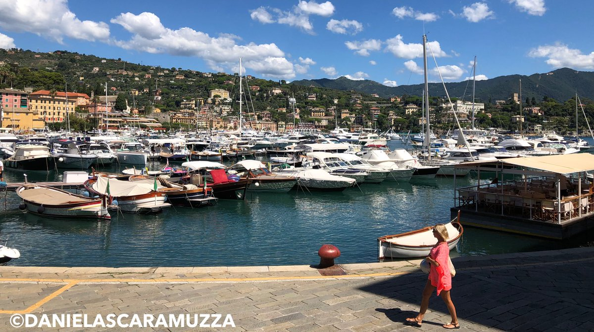 RT @scaramuzza_d: #SantaMargheritaLigure Harbour view #Liguria #Genova...