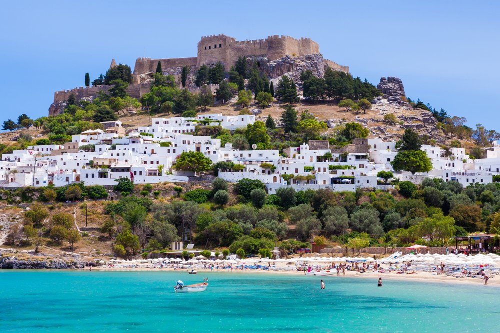 RT @VisitGreecegr: Good morning from Lindos, Rhodes #island #Greece...