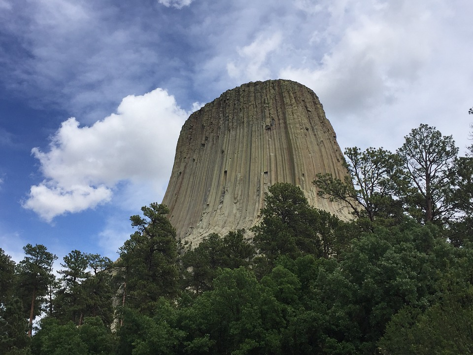 devils tower, wyoming, tower