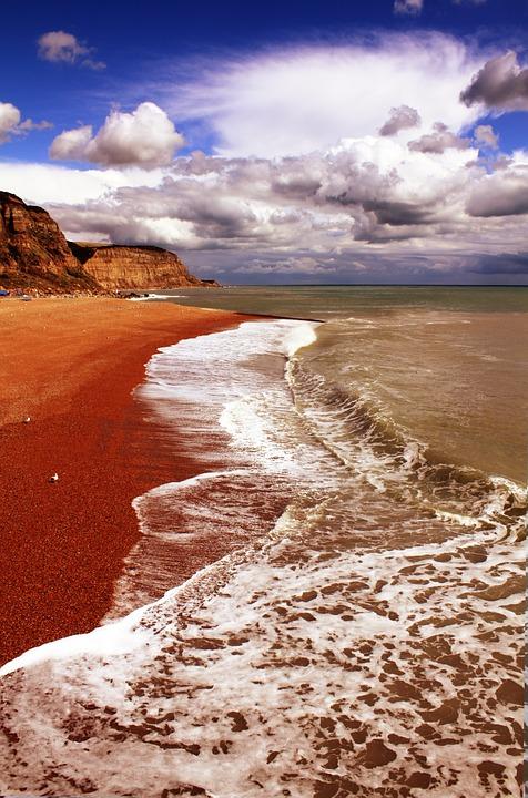 hastings, beach, coast