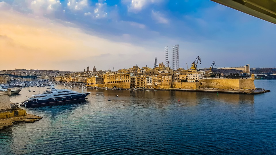 malta, harbor, ship