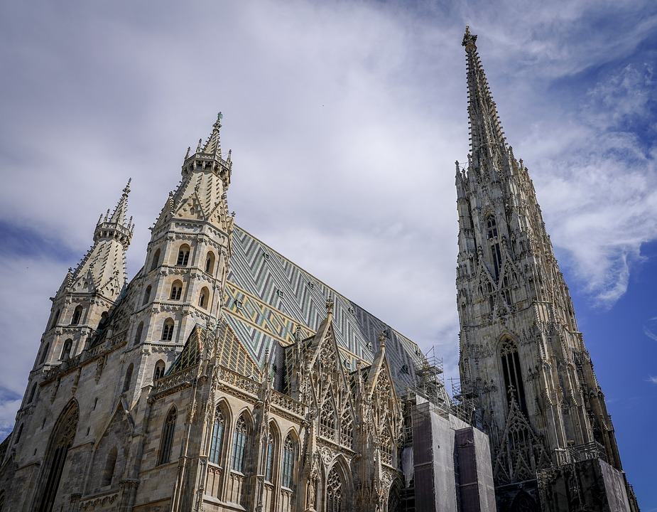 vienna, austria, st stephan's cathedral