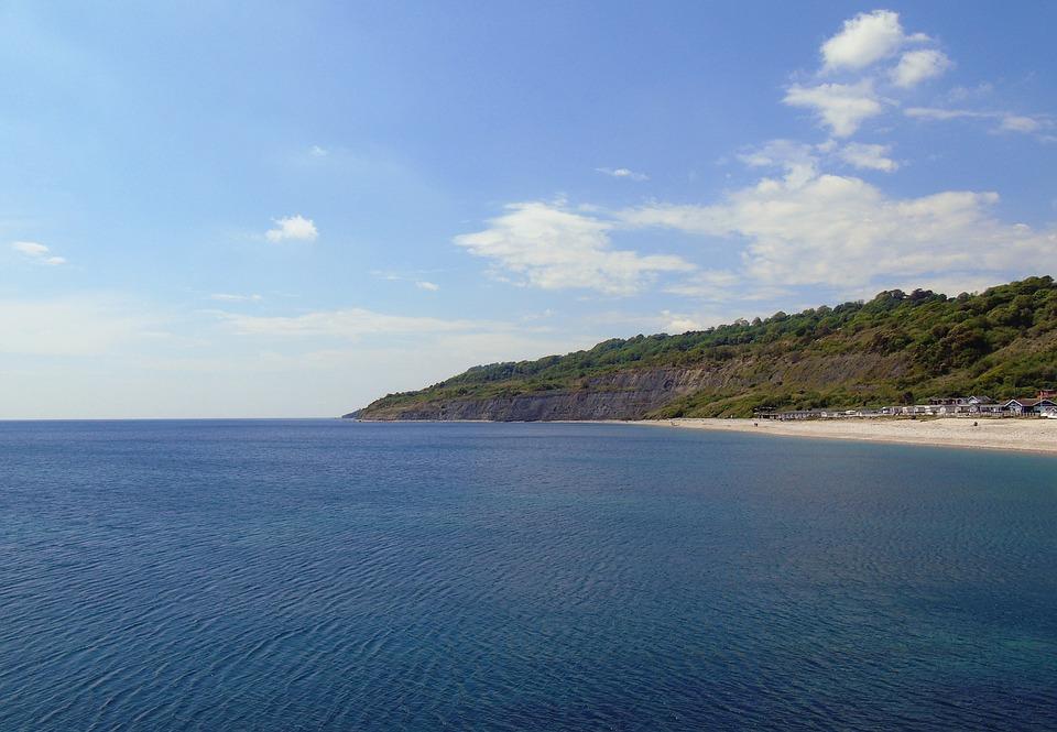 coastline, jurassic, coast