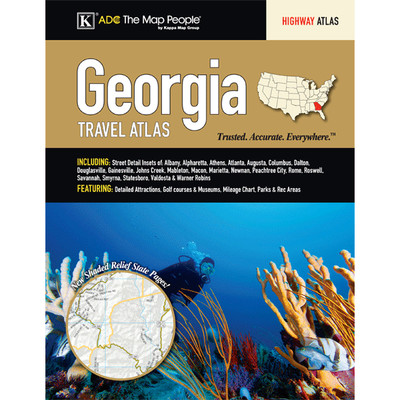 Georgia State Travel Atlas