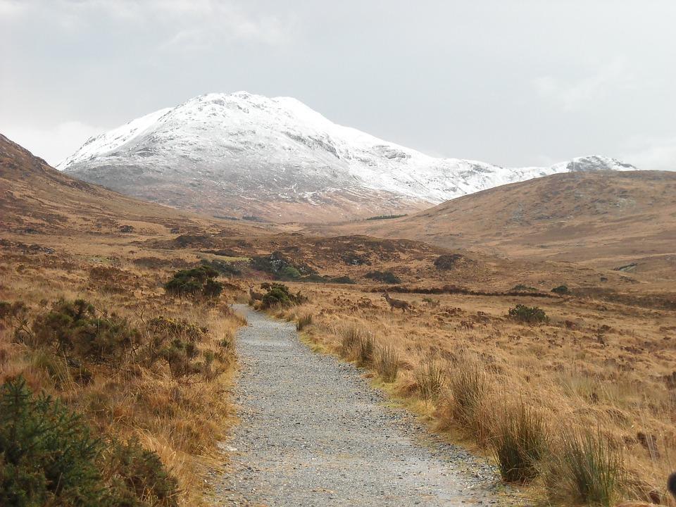 hike, mountain, adventure