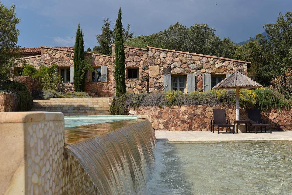 holiday house, france, corsica